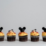 Mickey Heads and Mickey face Cupcakes