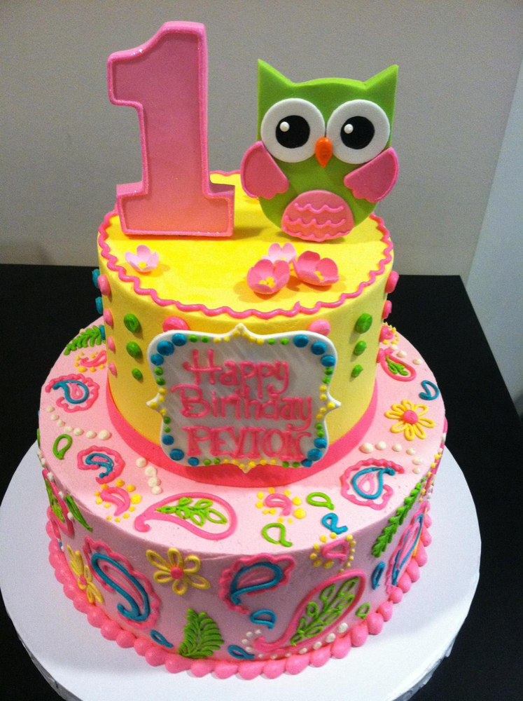 1st Birthday Cake Png 1st Birthday Cake Owl