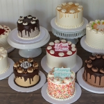 White Flower Celebration Cakes
