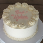 celebration Almond Wedding Cake
