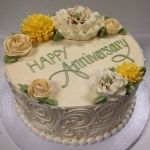 Classic Anniversary Ivory and Sage