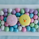 Feature Easter Macarons-Blackberry and Easter Peeps