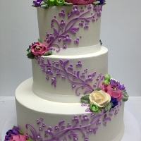 Signature 3 Tier Blossom Scroll