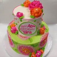 Summery Bright 2 Tier