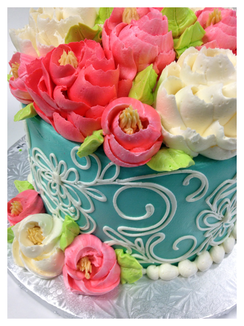 White Flower Cake Pe Cupcakes Cakes Decorating Cles In Cleveland Area
