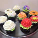 Some examples of buttercream florals from our Bootcamp class
