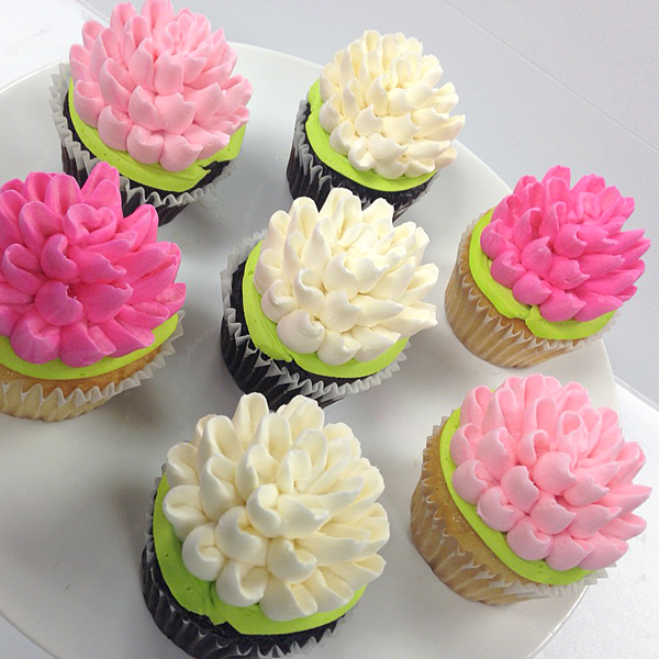 Cupcakes white flower cake shoppe pretty mums collection mightylinksfo