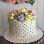 Classic Pastel dots Cake