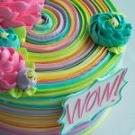 Classic Rainbow Wow Cake
