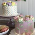 Classic spring-rosette Cake