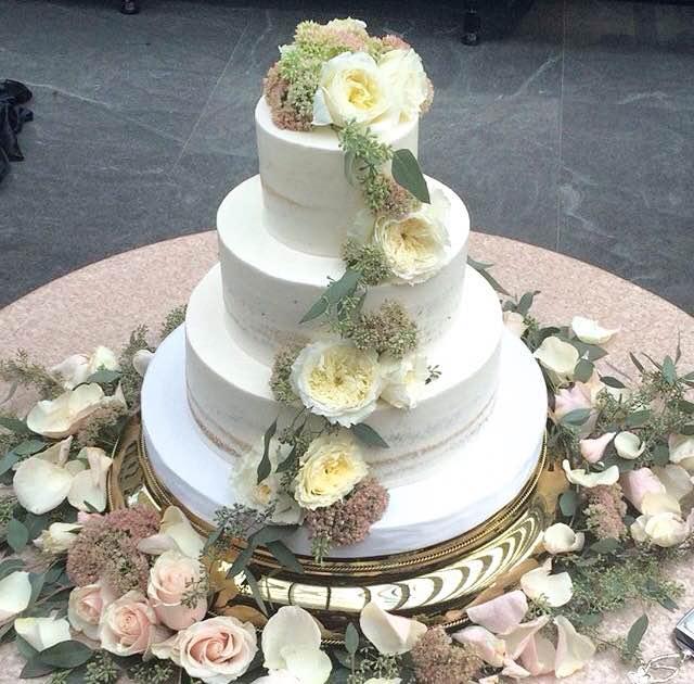 Classic wedding cakes white flower cake shoppe classic sage naked cake mightylinksfo