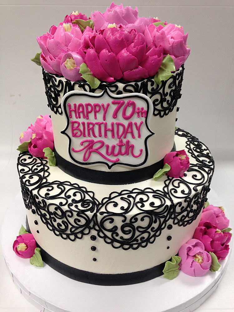 Classic 2 Tier Ruth & Stacked Cake u2013 White Flower Cake Shoppe