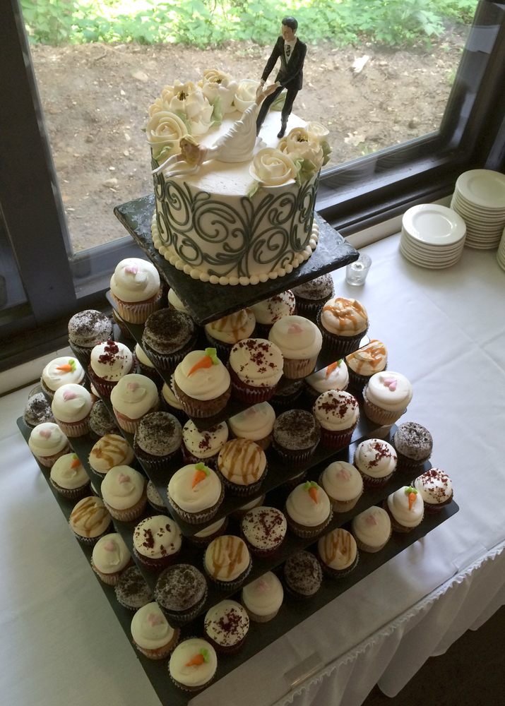 Wedding Cupcakes White Flower Cake Shoppe