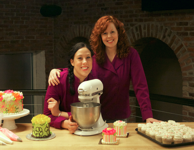 About us white flower cake shoppe from two gals that started with big dream and a small kitchen aid mixer in a tiny apartment kitchen we are so grateful to have the opportunity to grow our mightylinksfo