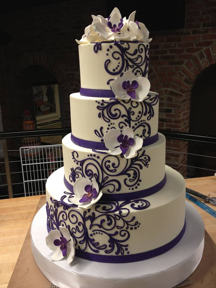 Buttercream wedding cakes can look as good as they taste! – White ...