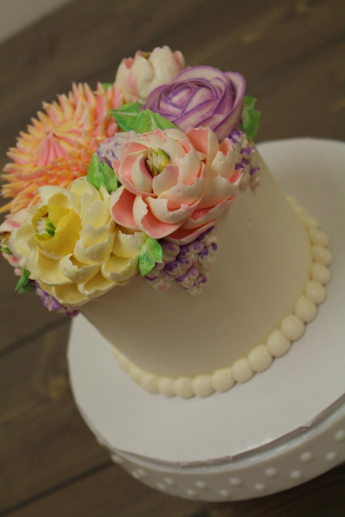 So Many Delicious Buttercream Cakes White Flower Cake