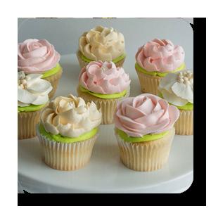 Gallery white flower cake shoppe cupcakes mightylinksfo